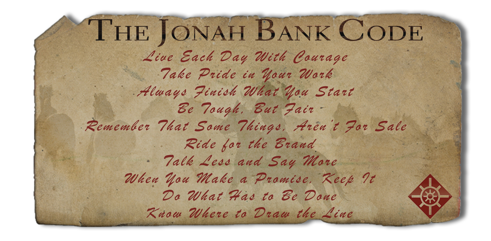 The Jonah Bank Code